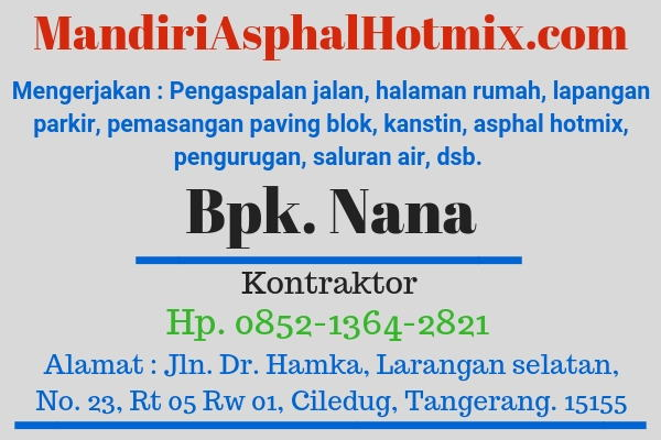 Mandiri Asphal Hotmix